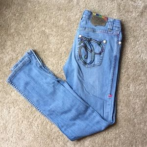 Coogi Skinny Ankle Jeans